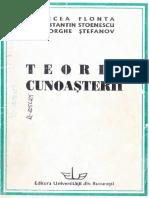 Mircea Flonta et al.-Teoria cunoasterii-Editura Universităţii din Bucureşti (1999).pdf