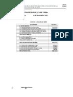 Datos Financieros Ed. Fisica