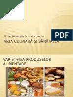 Arta Culinară Şi Sănătatea 3