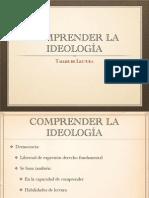 Comprender la Ideología