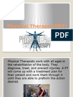 physical therapy  dpt