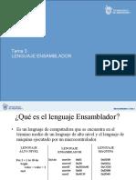TEMA 03 Ensamblador