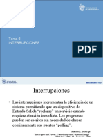 TEMA 06 Interrupciones