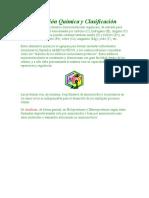 Composición Química y Clasificación