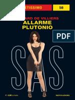 Sas 101 Allarme Plutonio - Gerard de Villiers