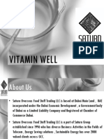 Vitamin Well Presentation