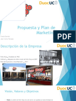 Propuesta y Plan de Marketing
