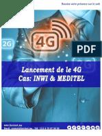Lancement 4G - Inwi Meditel Analyse Digitale par Forcinet