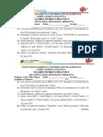 Examen pH y pOH