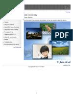 Dsc-hx9 Hx9v Guide