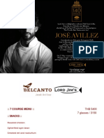 Jose Avillez - Lord Jims at Mandarin Oriental Bangkok - 24 to 28 May