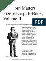 Horn Matters Excerpt Book Vol 2