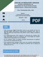 CDSL Y VDSL