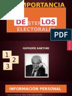 La importancia de Los Sistemas Electorales