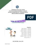 Tema 5 TD en Condiciones de Incertidumbre