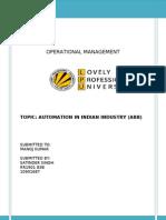 Term Paper Automation