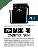 Basic 40 Manual