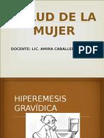 HIPEREMESIS GRAVIDICA EMBARAZO