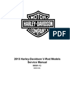 2013 VRSC Models Service Manual | Harley Davidson | ke Harley Ping Light Wiring Harness on