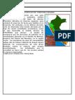 CARACTERÍTICAS DEL TERRITORIO PERUANO