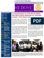 RC Holy Spirit THE DOVE Vol. VIII No. 39 May 10, 2016