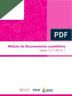 Modulo de razonamiento cuantitativo saber tyt 20161.pdf