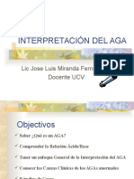 Interpretación de Aga