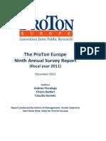 Piccaluga, OTT. Proton 2011 Report[1]