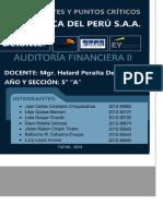 Auditoria-eeff-propiedad. Planta y Equipo