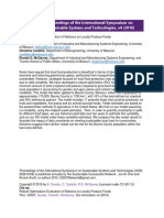 Dundar - Robust Optimization Evaluation of Relience on Locally Produced Foods