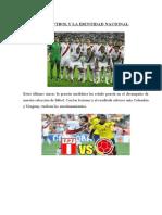 El Futbol y La Identidad Nacional