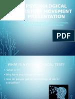 Psychoanalytic Model Paper