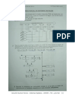 Sistemas Digitales ( Resolución Exámen Parcial UNMSM )