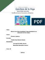 Informe de Bio de Liposolubilidad