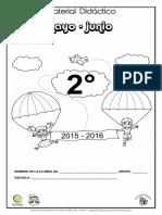 2o. Mat. de Apoyo Mayo - Junio 2015-2016 2o.