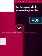 La Herencia de la Criminologia critica - Elena Larrauri.pdf