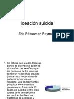 Ideación Suicida x Erik Rébsamen
