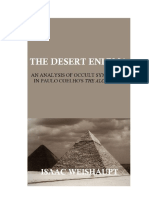 The DESERT ENIGMA an Analysis of Occult Symbolism in Paulo Coelho's the Alchemist