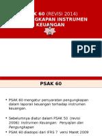 PSAK 60 Instrumen Keuangan