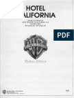 hotel california piano