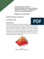 Pirámide de La Automatización