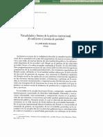 Virtualidades y límites de la política institucional. Es suficiente el sistema de partidos (José María Rosales)