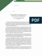 Una nota sobre la emancipación sexual. El feminismo y otras disidencias (Antonio Giménez Merino).pdf
