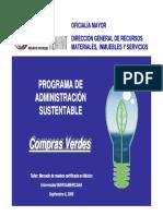 Programa de compras verdes