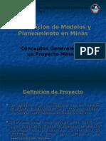 Elaboración de Modelos y Planeamiento en Minas 1
