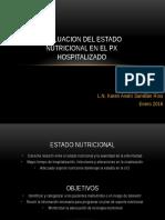 2 Nut Clinica - Eval Edo Nutricional Px Hospitalizado