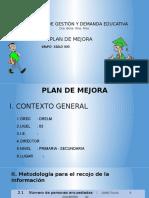 Plan de Mejora s.xxi