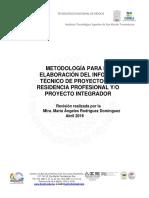 Metodologia Residencia - Proyecto Integrador
