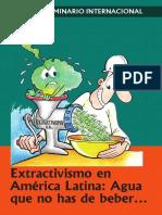 Seminario Internacional Extractivismo
