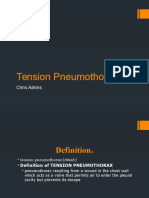 Tension Pneumothorax Chris